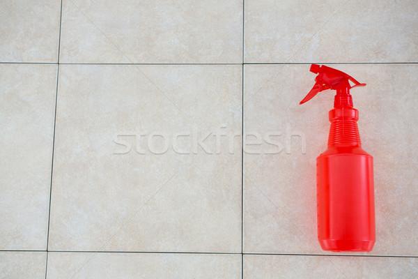 View rosso spray bottiglia blu strumento Foto d'archivio © wavebreak_media