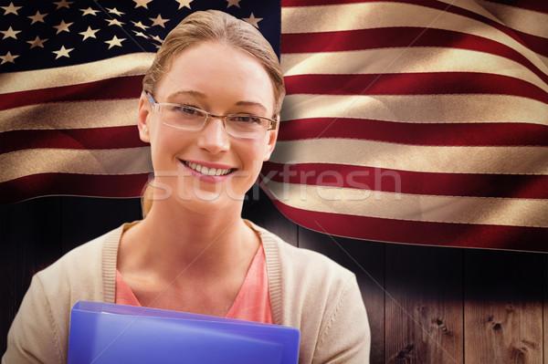 画像 教育 学生 笑みを浮かべて 女性 ストックフォト © wavebreak_media