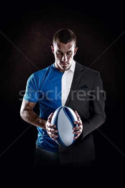 Immagine rugby giocatore palla Foto d'archivio © wavebreak_media