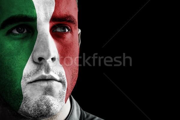 изображение Италия регби игрок черный Сток-фото © wavebreak_media