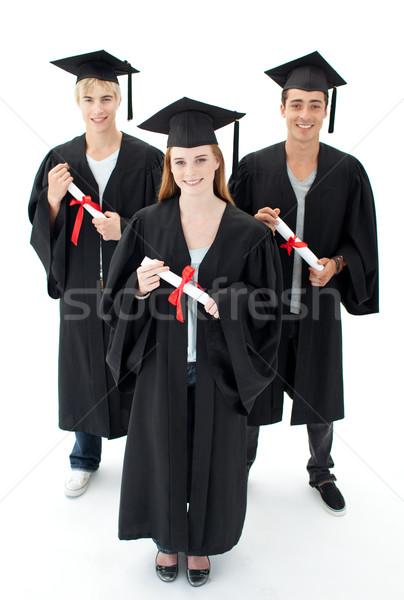 Grupo adolescentes graduação feliz menina Foto stock © wavebreak_media