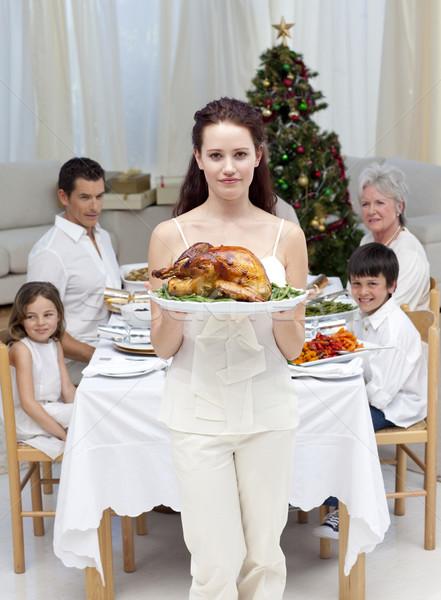 Madre Turchia Natale cena home Foto d'archivio © wavebreak_media