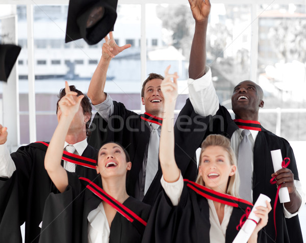 Group of people Graduating from College Stock photo © wavebreak_media