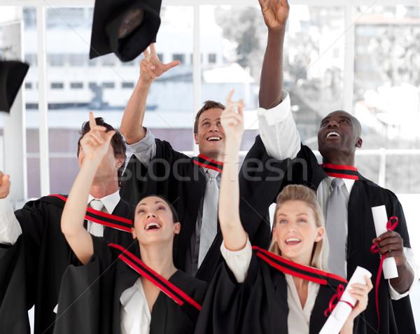Group of people Graduating from College Stock photo © wavebreak_media