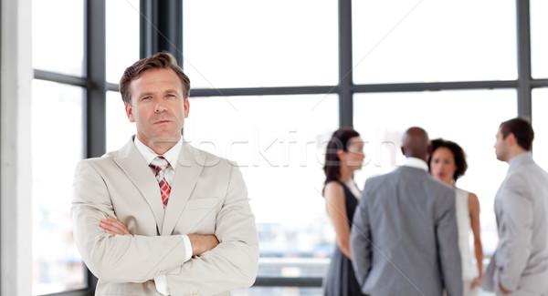 Maturité homme d'affaires équipe bureau affaires femme Photo stock © wavebreak_media