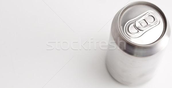 горизонтальный мнение закрыто алюминий можете Сток-фото © wavebreak_media