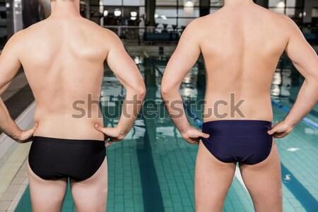 Composite image of bodybuilding couple Stock photo © wavebreak_media