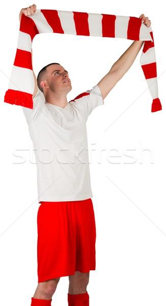 Strisce sciarpa bianco calcio Foto d'archivio © wavebreak_media