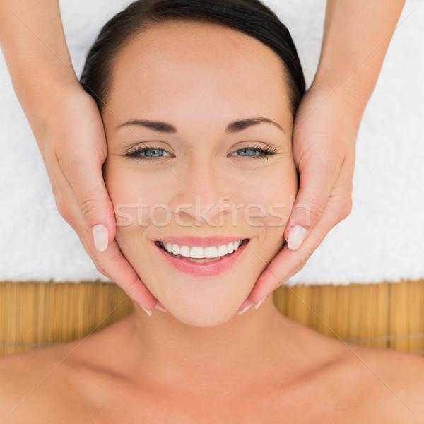 Pacifica bruna massaggio donna Foto d'archivio © wavebreak_media