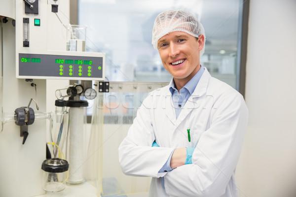 Farmacista macchine medicina laboratorio felice Foto d'archivio © wavebreak_media