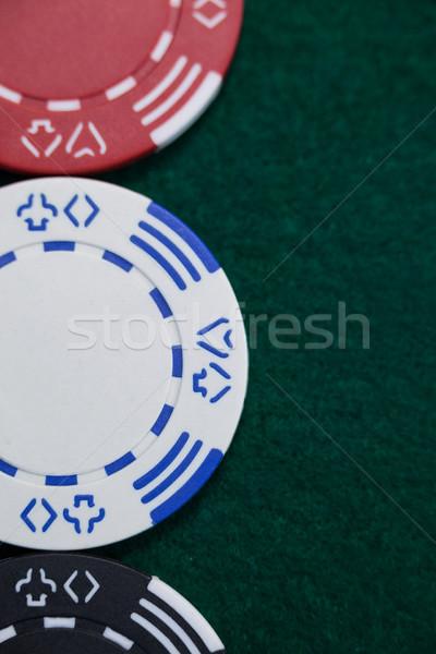 фишки казино покер таблице успех играть Сток-фото © wavebreak_media
