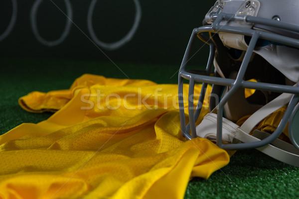 Football tête engins artificielle Photo stock © wavebreak_media