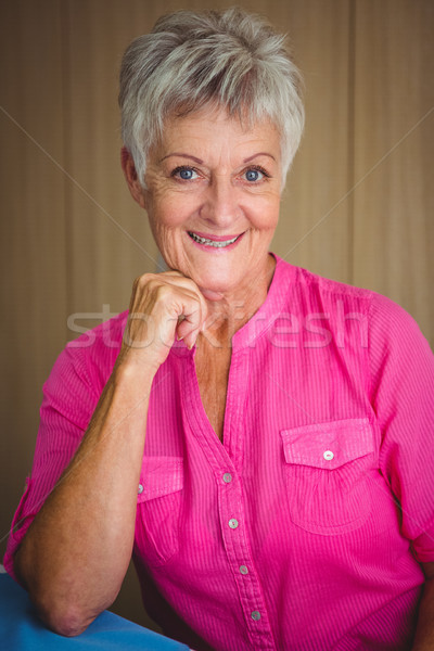 Portrait of a smiling retired woman Stock photo © wavebreak_media