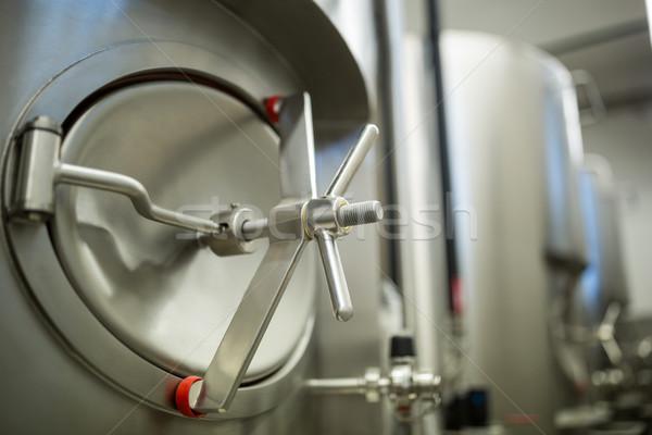 Fermentatie tank brouwerij fabriek Stockfoto © wavebreak_media