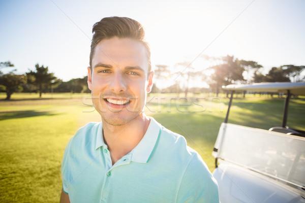 портрет гольфист человека Постоянный области Сток-фото © wavebreak_media