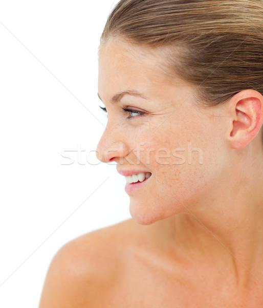 Kobieta leczenie uzdrowiskowe zdrowia centrum twarz kobiet Zdjęcia stock © wavebreak_media