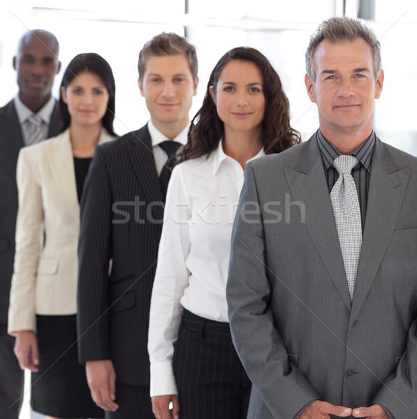 Smiling senior busienss leader Stock photo © wavebreak_media