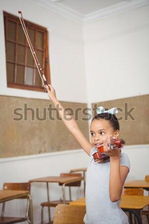 Sérieux élèves écouter enseignants Université auditorium Photo stock © wavebreak_media