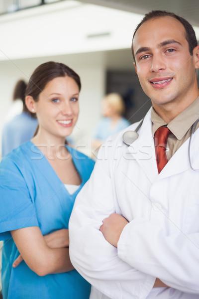 врач медсестры больницу медицинской медицина Сток-фото © wavebreak_media