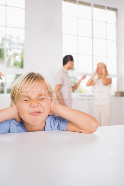 少年 見える 悲しい 原因 両親 ストックフォト © wavebreak_media