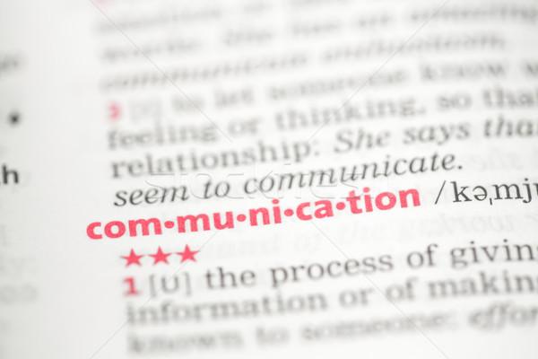 связи определение словарь бизнеса звезды концепция Сток-фото © wavebreak_media