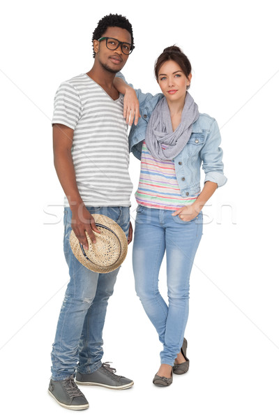 Full length portrait of a cool young couple Stock photo © wavebreak_media