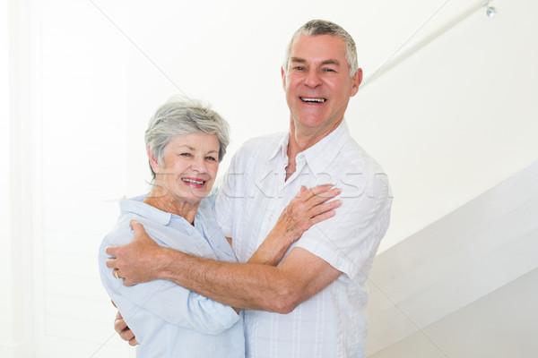 Gelukkig dansen samen home woonkamer Stockfoto © wavebreak_media