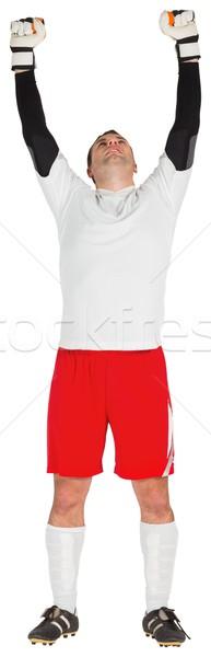 вратарь белый Футбол Мир футбола Сток-фото © wavebreak_media
