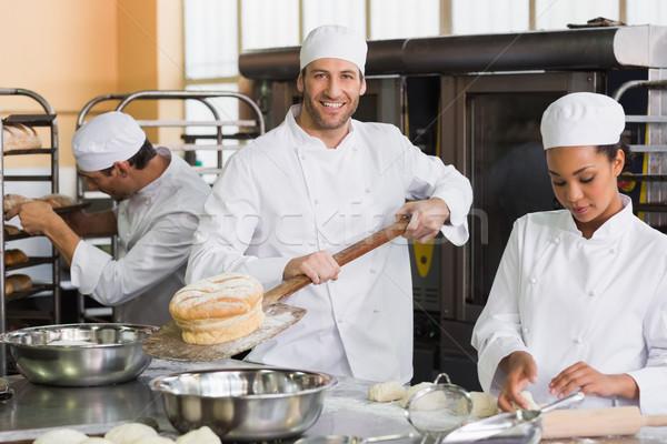 Сток-фото: команда · кухне · хлебобулочные · бизнеса · человека