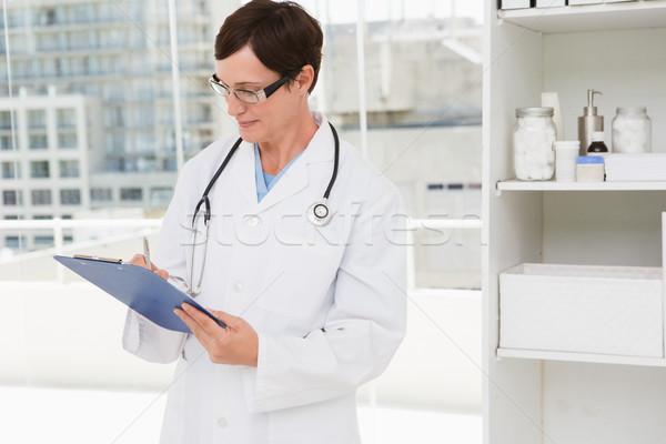 Veteriner tıbbi ofis kadın Stok fotoğraf © wavebreak_media