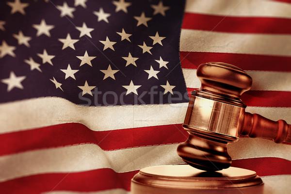 изображение молота молоток Соединенные Штаты Америки Сток-фото © wavebreak_media