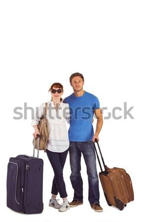 Família feliz pronto férias branco criança mãe Foto stock © wavebreak_media