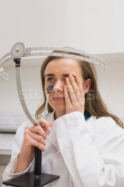 Estudante vista corpo universidade escolas médico Foto stock © wavebreak_media