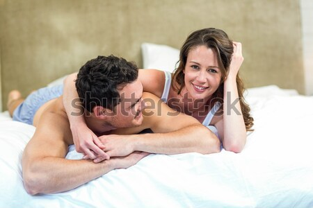 Stockfoto: Ontspannen · massage · tabel · spa · vrouw
