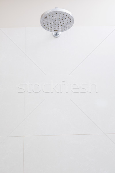 Close-up of shower in the bathroom Stock photo © wavebreak_media