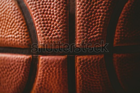 Close up of basketball Stock photo © wavebreak_media