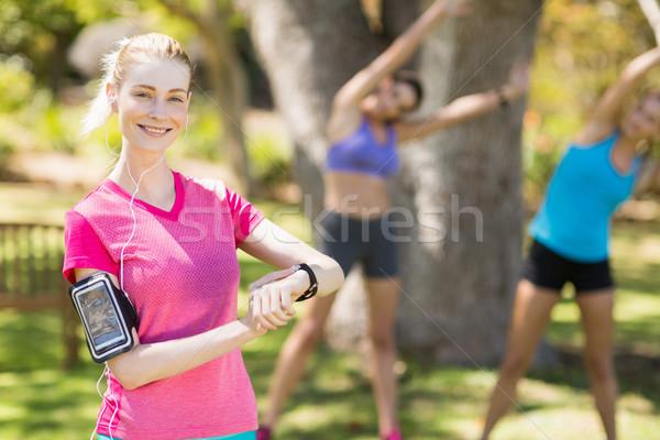 Fit women warming up  Stock photo © wavebreak_media