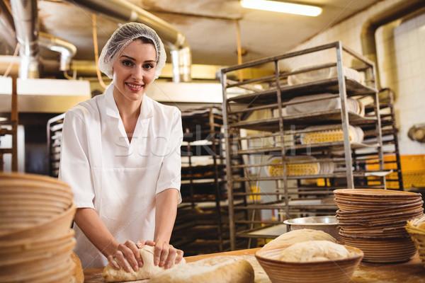 женщины Бейкер хлебобулочные магазин женщину Сток-фото © wavebreak_media