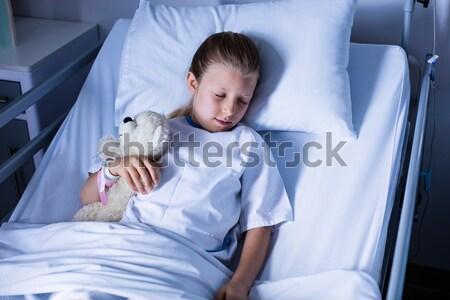 Patient resting in ward Stock photo © wavebreak_media