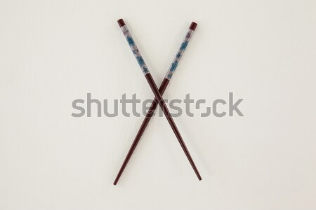 Filbert brush on white background Stock photo © wavebreak_media