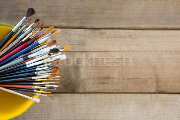 различный кисти чаши образование щетка отпуск Сток-фото © wavebreak_media