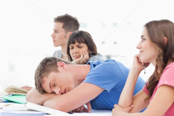 Une étudiant classe autre déception Photo stock © wavebreak_media
