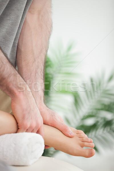 Manos pie habitación médicos Foto stock © wavebreak_media