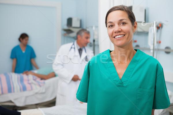 看護 立って 病院 ルーム 医師 その他 ストックフォト © wavebreak_media