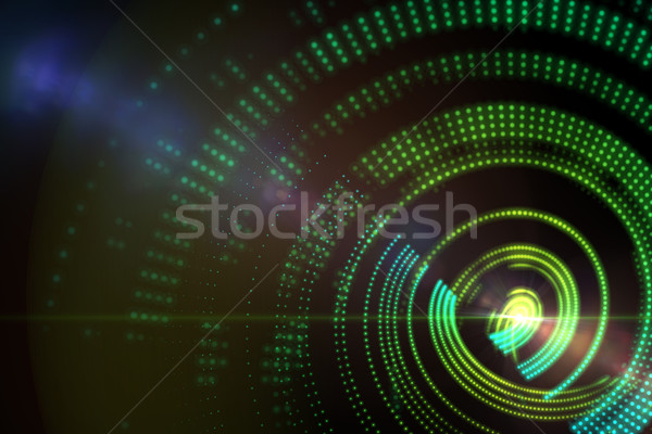 генерируется спиральных дизайна зеленый Сток-фото © wavebreak_media