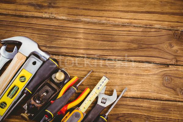 Csináld magad szerszámok ki asztal lövés stúdió Stock fotó © wavebreak_media