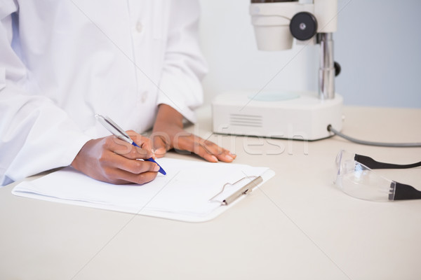 Konsantre bilim adamı laboratuvar tıbbi teknoloji Stok fotoğraf © wavebreak_media