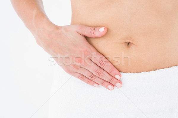 Woman suffering from menstruation pain Stock photo © wavebreak_media
