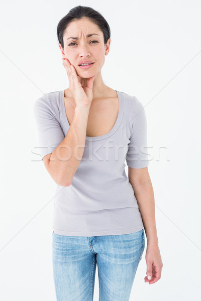 Woman suffering from teeth pain  Stock photo © wavebreak_media