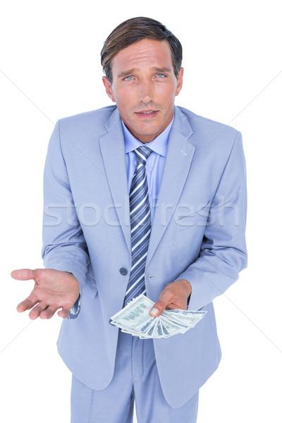 businessman holding bribe Stock photo © wavebreak_media